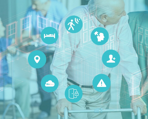 Technology for safe and connected aged care facilities
